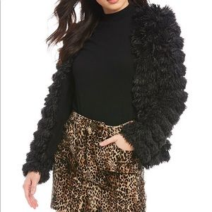Fuzzy Faux Fur Cozy Jacket